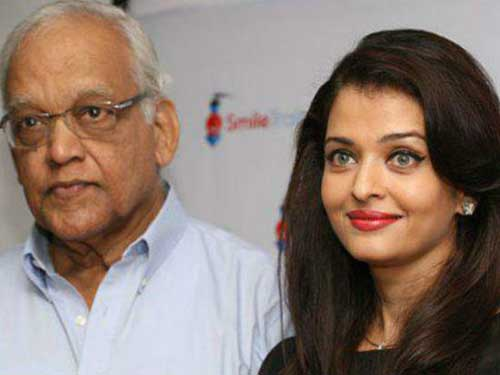 Aish with father