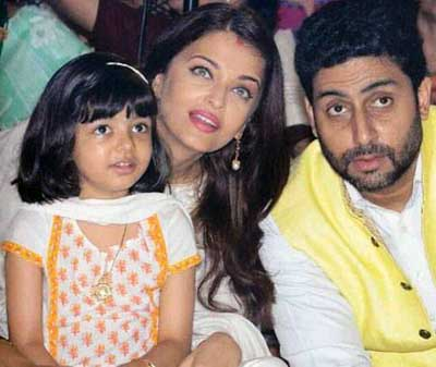 aish with her family